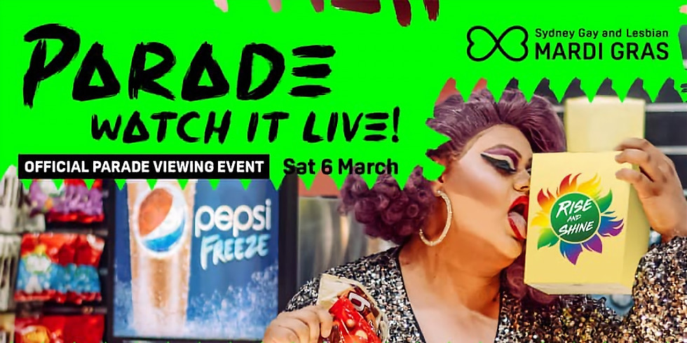 Rise and Shine: Sydney Gay and Lesbian Mardi Gras Livestream and Drag Trivia