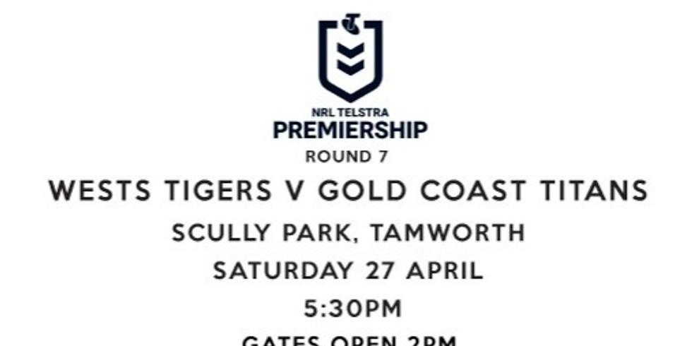 Wests Tigers V Gold Coast Titans