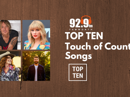 Top Ten Touch of Country Songs