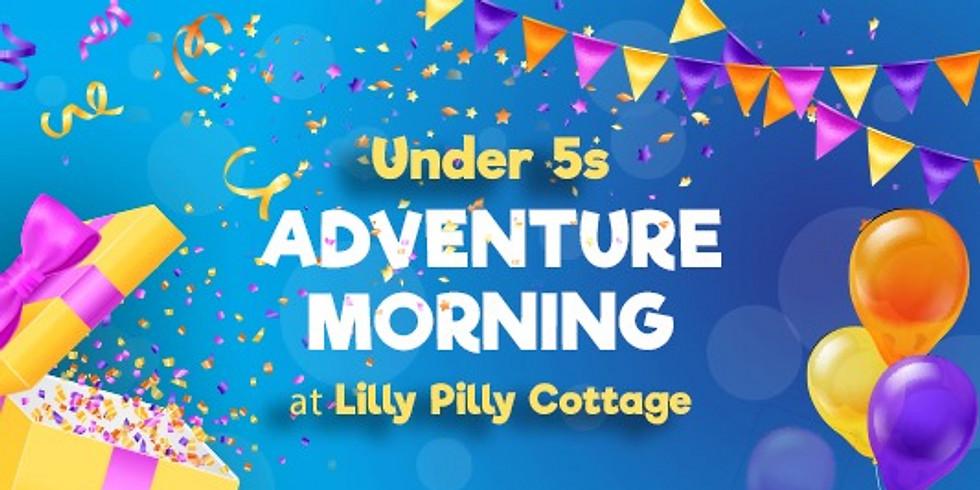 Under 5's Adventure Morning