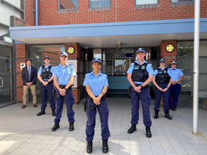 New cops on the beat as five recruits join region's force