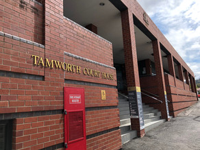 Tamworth Man Arrested for a string of break-in offences attempts to escape from Police Custody