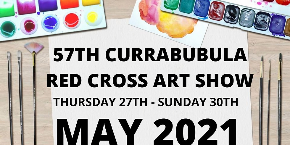 57th Currabubula Red Cross Art Show