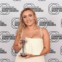 Paris Humphries wins Best Newcomer Award at the 2018 Acras