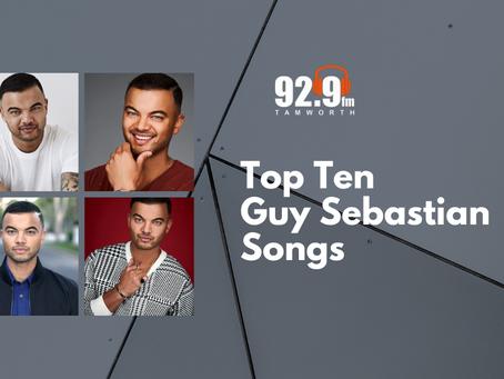 Top Ten Guy Sebastian Songs