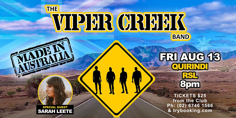 The Viper Creek Band @ Quirindi RSL