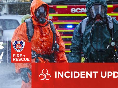 Gas leak Calala: staff at Tamworth Agricultural Institute evacuated