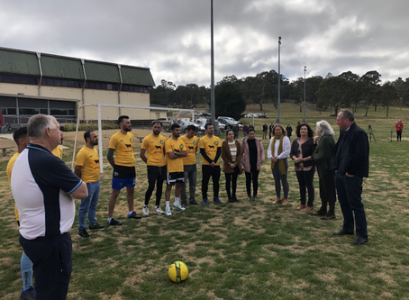 Grant helps migrants and refugees tackle sport