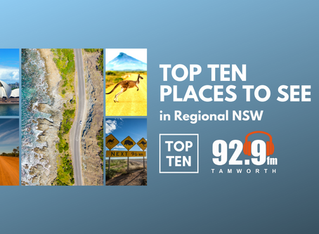 Top Ten Places to See in Regional NSW
