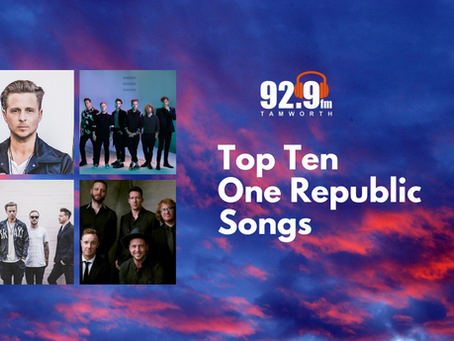 Top Ten One Republic Songs