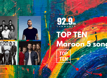 Top Ten Maroon 5 Songs