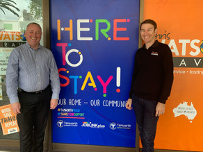 Here to stay: Business campaign kicks off