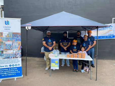 Tamworth community benefits from the Sikh tradition 'Langar'