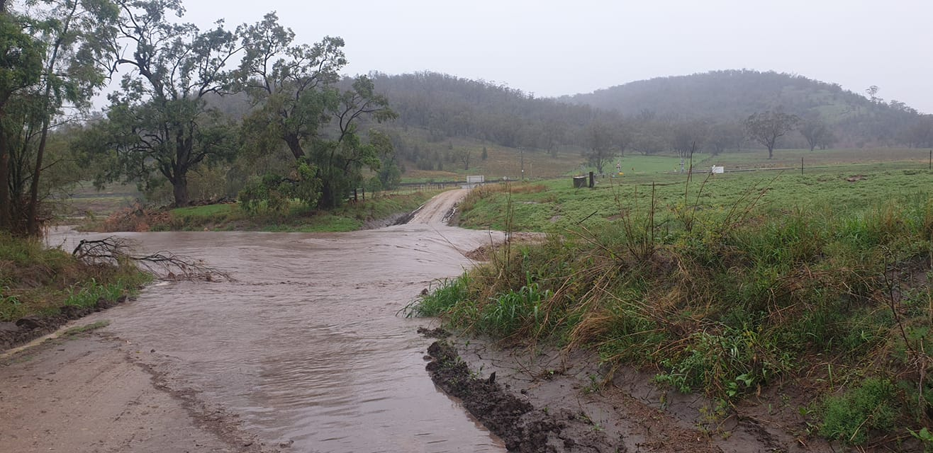 Near the Gap Road, Werris Creek supplied by Erin Moore
