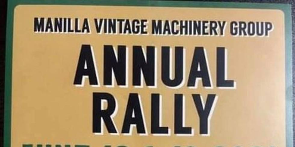 Manilla Vintage Machinery Rally