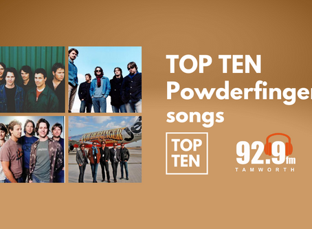 Top Ten Powderfinger Songs | 92.9fm