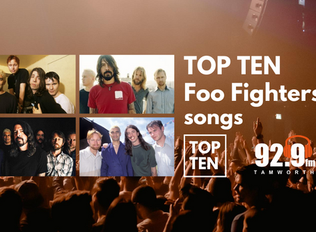 Top Ten Foo Fighters Songs