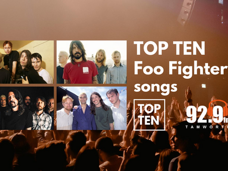 Top Ten Foo Fighters Songs