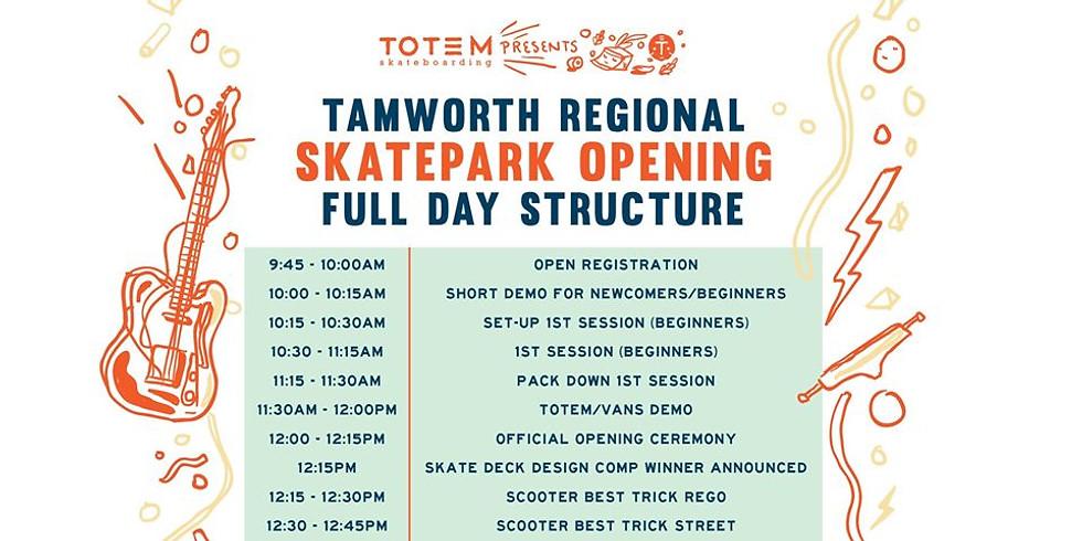 Tamworth Regional Skatepark Opening