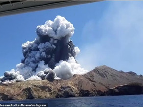 Tamworth couple caught in New Zealand volcano eruption found safe