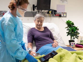 Vision to reality: Virtual hospital to monitor COVID-19 patients from home