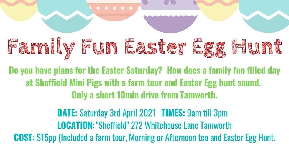 Family Fun Easter Egg Hunt