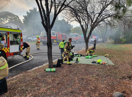 Fourth house fire in a month as Gunnedah home lights up
