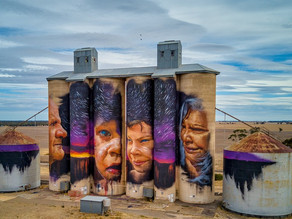 "Quirindi Silo Art project eager to ""light up"" the town by the end of the year"