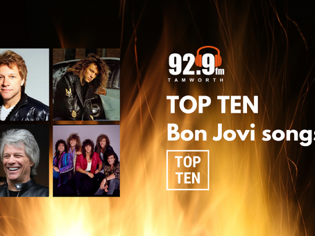 Top Ten Bon Jovi Songs