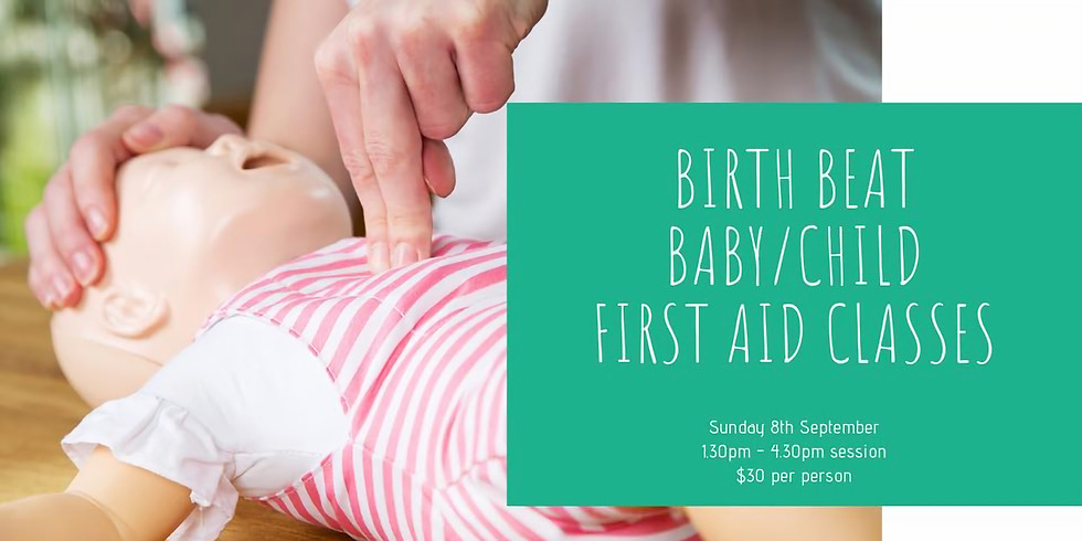 Birth Beat Baby - First Aid Class