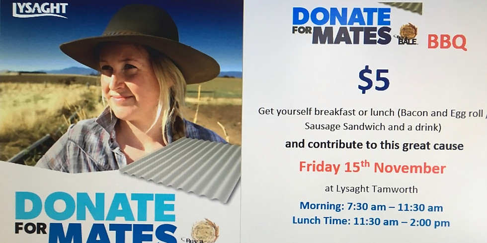 Donate for Mates