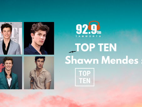 Top Ten Shawn Mendes Songs
