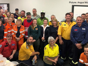 Volunteers fight hundreds of fires in 100 days