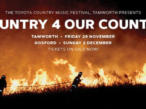 Country 4 Our Country bush fire relief concerts announced