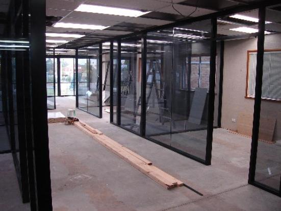 New 92.9 studio rebuild on Goonoo Goonoo Road.