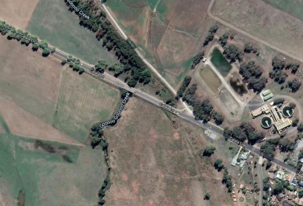 Satellite map view of Calala lane