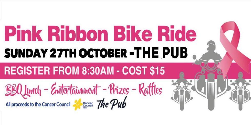 Pink Ribbon Bike RIde