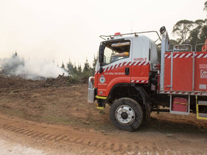 Firefighters continue to fight the Hanging Rock blaze