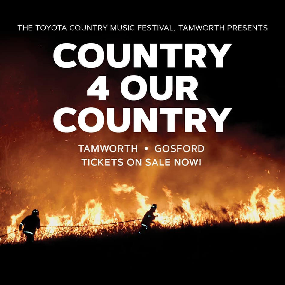 Country 4 Our Country drought fundrasier