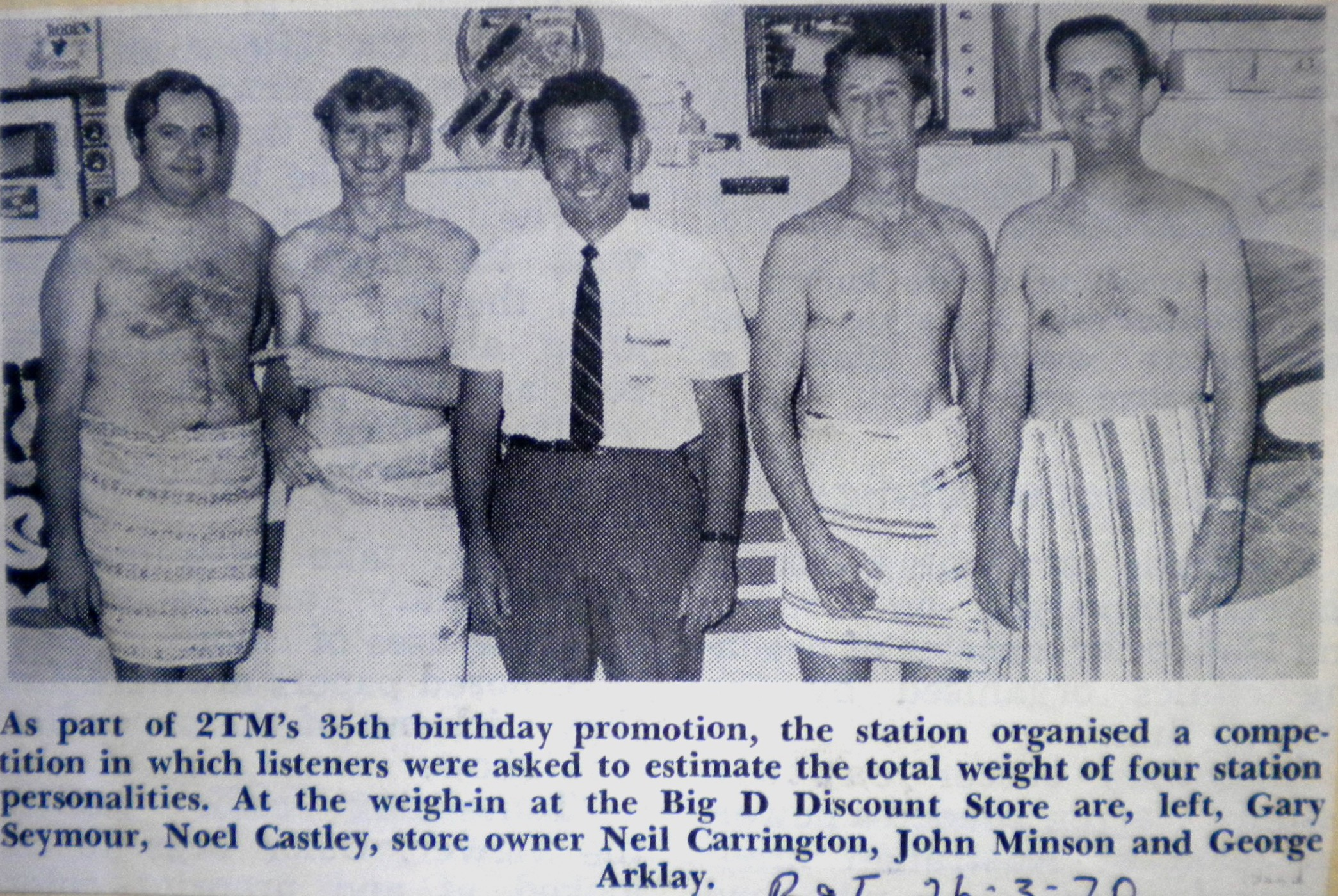 2TM's 35th Birthday- 1970