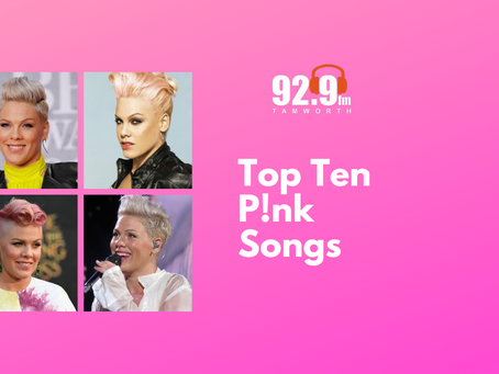 Top Ten P!nk Songs