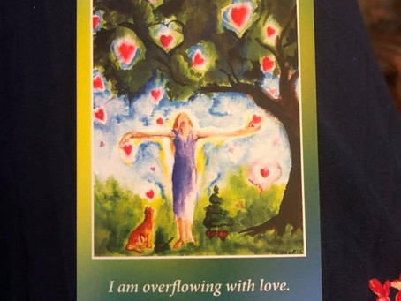 """""""I am overflowing with love"""""""