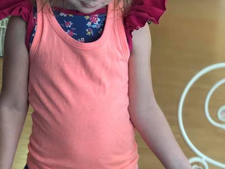 My daughter. My sunshine.
