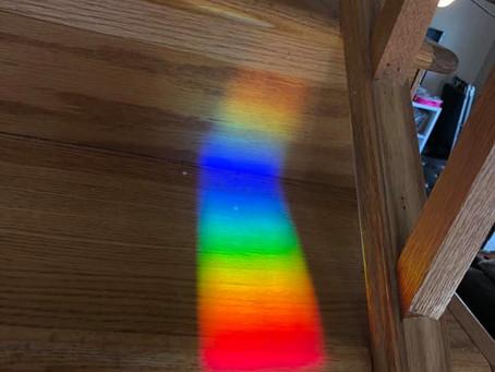 Rainbow-o'clock!