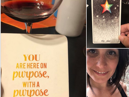 here on purpose, with a purpose
