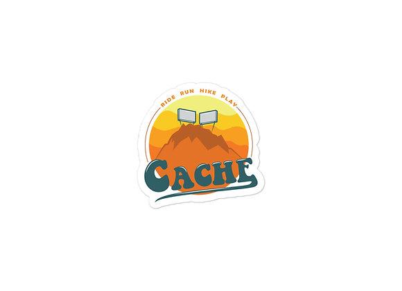 Cache Sticker