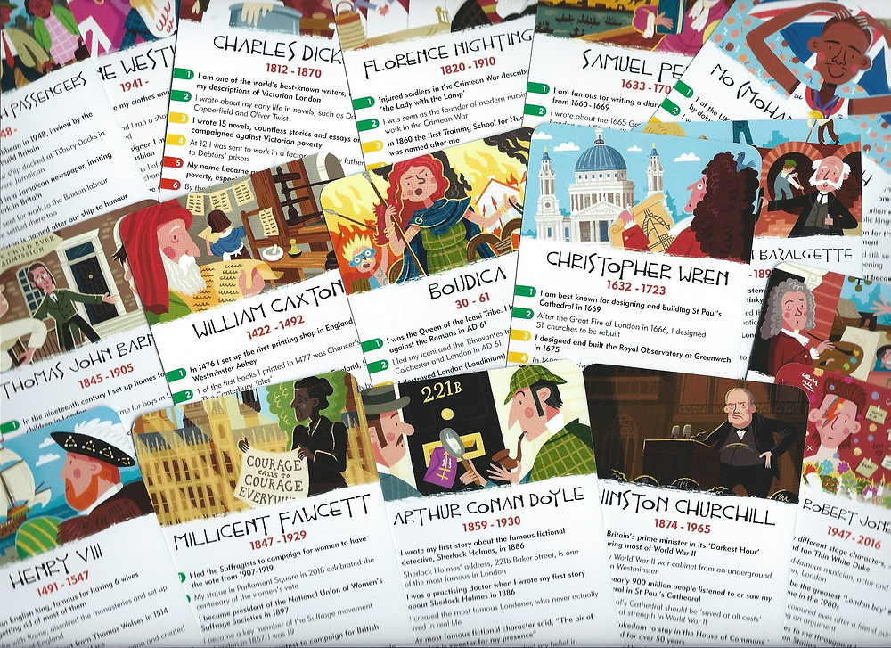 History Heroes Card Game