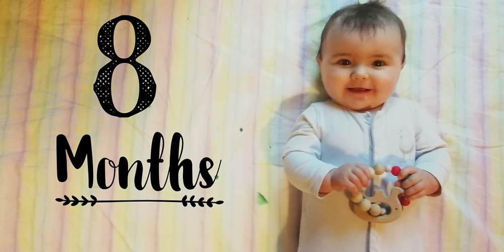 eight months old baby