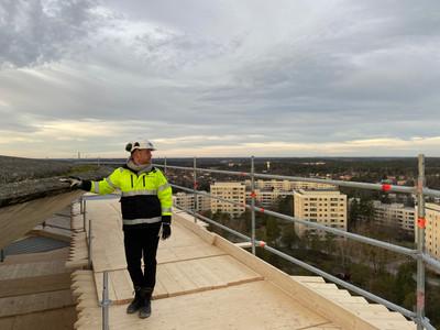 Arbetsplats med en schysst utsikt!