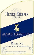 Henri Kieffer Riesling Gand Cru Winzenbe